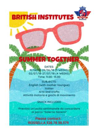 British institutes summer together!_2